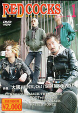 V/A - RED COCKS DVD (JAPAN-PUNK) UNITED FORCE, JACK THE RIPPER, BOOTED COCKS