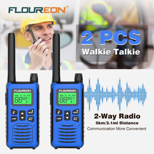 Walkie-Talkies-Long-Range-Two-Way-Radio-16CH-PMR-446MHZ-VOX-Dual-Channel-Monitor