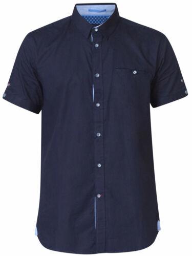manches 6xl foncᄄᆭ Duke 7xl poitrine bleu 2xl chemise D555 8xl ᄄᄂ Mens poche de Big courtes Ks10114 b7Yf6gy