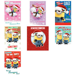 49c9e37659d11 Image is loading Despicable-Me-Minions-Christmas-Cards-Assorted