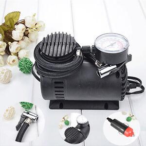 mini luft kompressor elektrisch reifen infaltor pumpe 12. Black Bedroom Furniture Sets. Home Design Ideas