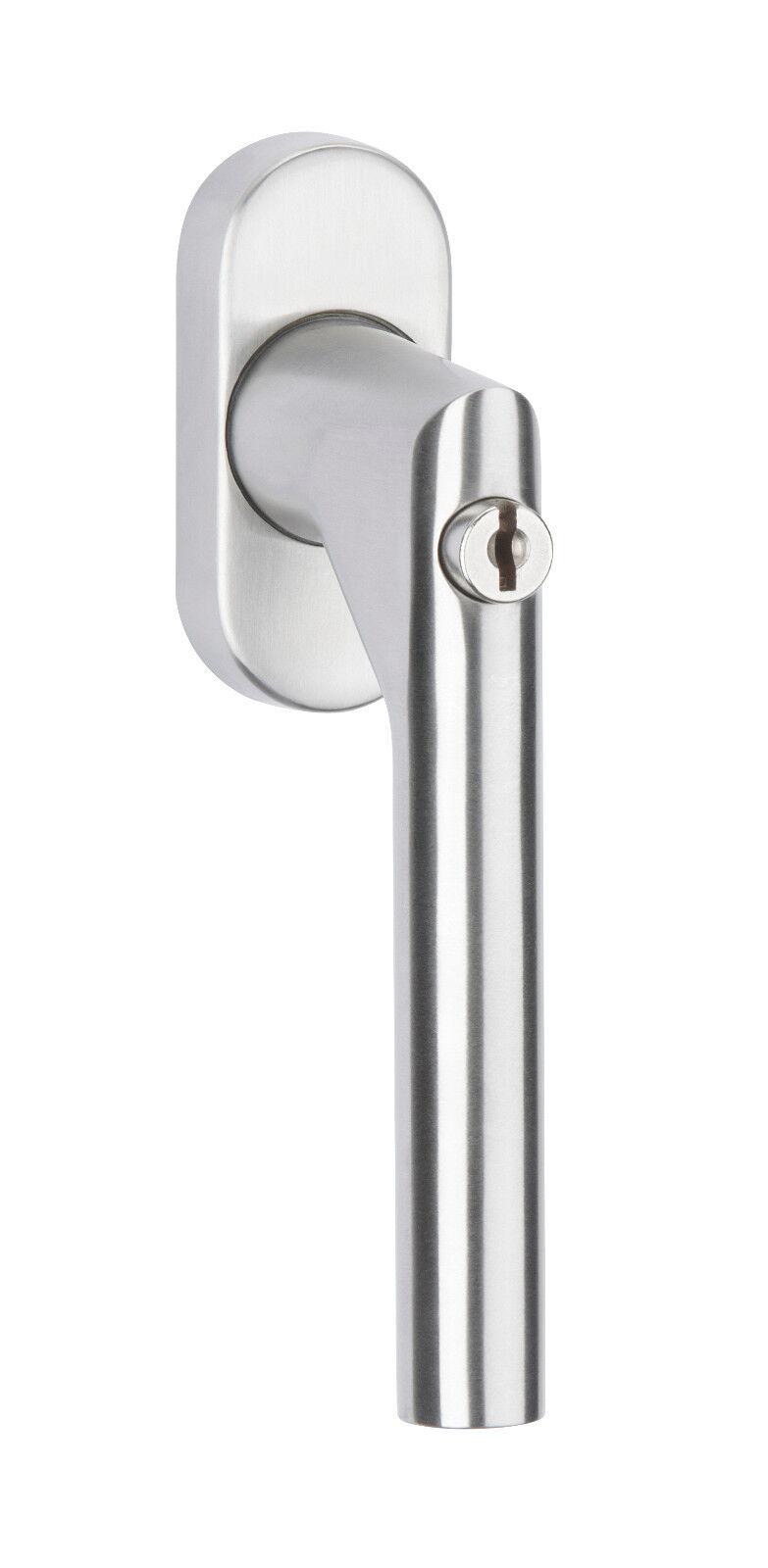 Hermat Fenstergriff 1802 DKI Edelstahl abschließbar 200 Nm mit Mengenrabatte | Kunde zuerst  | Billig  | München Online Shop  | Stabile Qualität