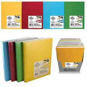 A4-A5-PREMIUM-HARDBACK-ARTIST-SKETCHING-DRAWING-BOOK-PADS-220-PAGES-110gsm-PAPER