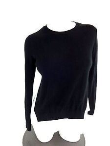 Image is loading TROUVE-DESIGNER-NORDSTROM-WOMENS-BLACK-amp-WHITE-CREWNECK- 9f3fc1085
