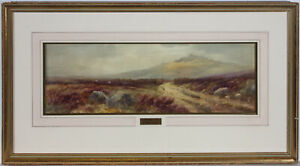 Lewis-Mortimer-fl-1900-1930-Early-20th-Century-Watercolour-Leather-Tor