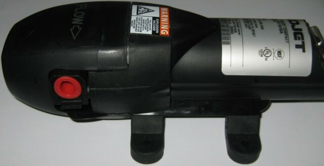 Flojet BevJet Beverage Pump - 115V w/ Power Adapter - 40 PSI - 1.0 GPM