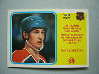 1982/83 O-PEE-CHEE HOCKEY CARD #242 WAYNE GRETZKY EDMONTON OILERS NM SHARP!! OPC