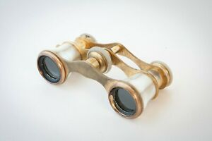 Antique Mother of Pearl Opera Glasses Binoculars