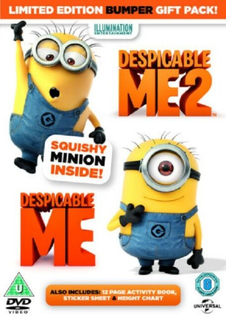 Despicable Me/Despicable Me 2  DVD 2013 NEW SEALED FREEPOST