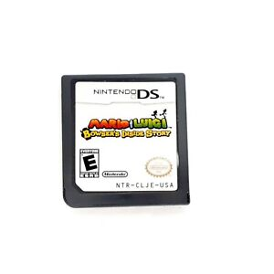 Mario-Luigi-Bowsers-Inside-Story-Nintendo-DS-2009-Authentic-Cartridge-only