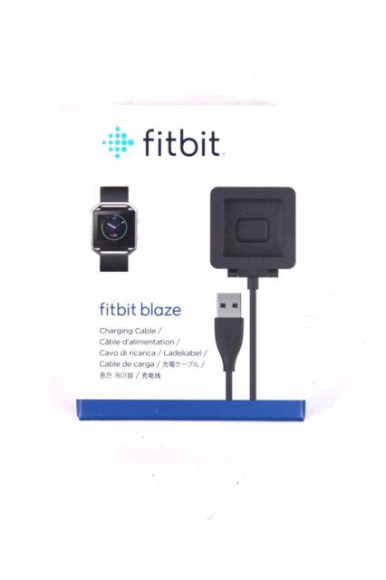 Fitbit Blaze Charging Cable Ladekabel für Fitnessuhr FB159RCC Schwarz OVP NEU