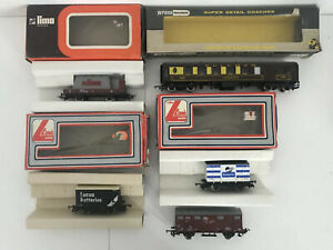 Lima-Model-Carriages-Bundle-Lucas-Batteries-British-Rail-Homepride-Pullman-Car