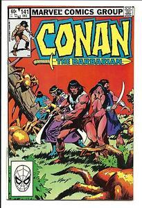 CONAN THE BARBARIAN # 141 (DEC 1982), NM