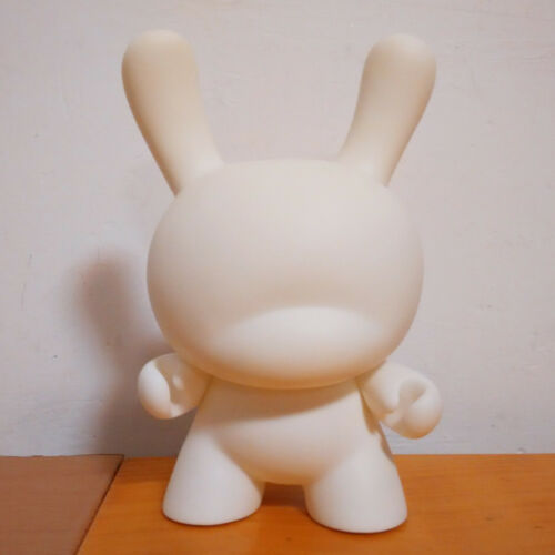 Lowest Pice 5pc 8 inch Kidrobot Dunny DIY Paint Blank White Vinyl Toy in opp bag