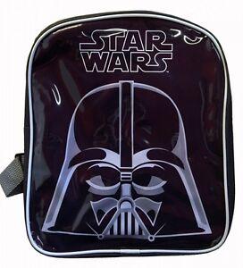 Details About Disney Star Wars Darth Vader Pvc Front School Bag Rucksack Backpack New Gift