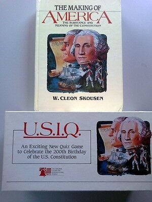 Making Of America Skousen and Quiz Game 200th Birthday Of Constitution Attraktiv Und Langlebig