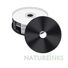 25 pieces x Mediarange Black Bottom CD-R Full Face White Printable 52x 700MB
