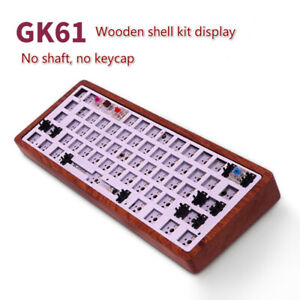 Details about GK61 Mechanical Keyboard DIY Kit Hot Swap Independent Driver  Tyce-C Interface