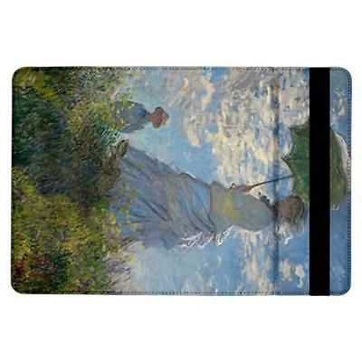 Claude Monet Woman With a Parasol Flip Case for ipad Air