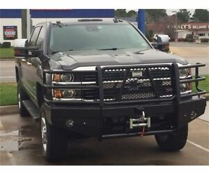 2018 Chevy 2500Hd >> Details About New Ranch Hand Winch Front Bumper 2015 2016 2017 2018 Chevy 2500hd 3500 2500