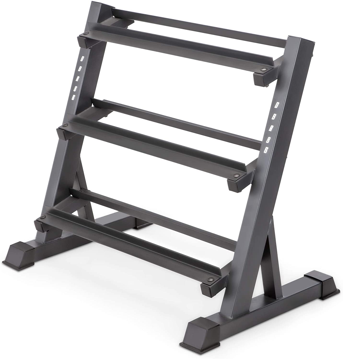 3 Tier Metal Steel Multifunction Dumbbell Rack 1100 Lbs Capacity Kettlebells Weight Plates,Olympic Barbells Storage Rack Home Workout Gym Organizer Storage Stand Exercise Training Equipment Gifts