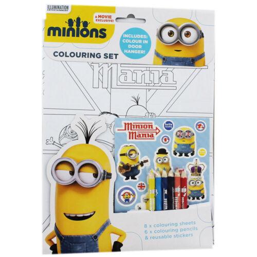 MINIONS coloriage set