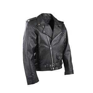 Hombre-P2-Moto-Perfecto-Brando-Motociclista-Chaqueta-de-Cuero-Actual-Estilo-Free