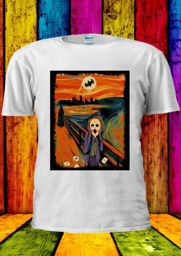 The Scream Joker Batman Heath Ledger T-shirt Vest Tank Top Men Women Unisex 2051