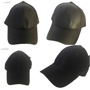Pu-cuir-casquettes-de-baseball-velvet-velours-chapeaux-strapback-snapback-hommes-amp-femmes