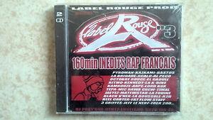LABEL-ROUGE-3-RAP-FRANCAIS-2-CD-NEUFS-ET-SOUS-BLISTER