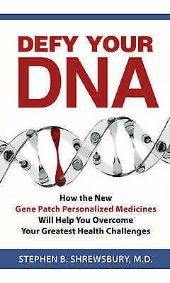 1 of 1 - Defy Your DNA - New Book Shrewsbury, Steven B