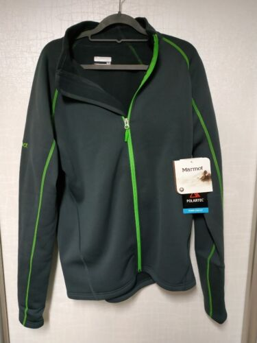 Marmot Polartec Power Stretch Full Zip Jacket Men/'s M-L