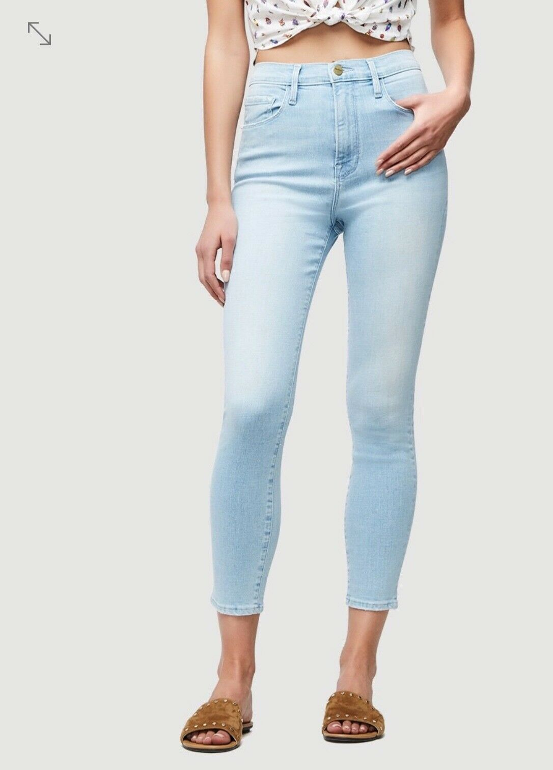 Frame Denim Womens High Rise Skinny Jean, Size 28, New without tags
