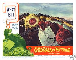 GODZILLA-VS-THE-THING-LOBBY-SCENE-CARD-4-POSTER-1964-TOHO
