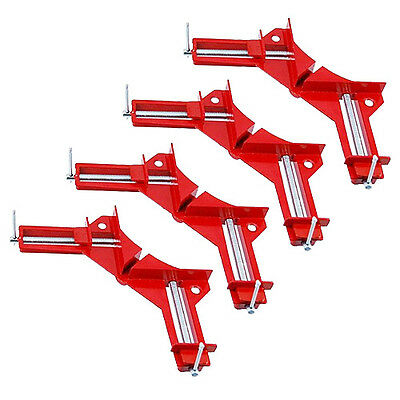 "4 X 4"" RIGHT ANGLED MITRE CORNER VICE PICTURE FRAME CLAMP"
