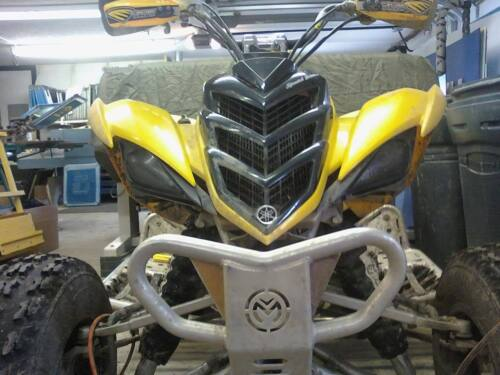 USPS TRACKING Yamaha RAPTOR 700 450 BLACK Head Light Covers VERY COOL MUST SEE
