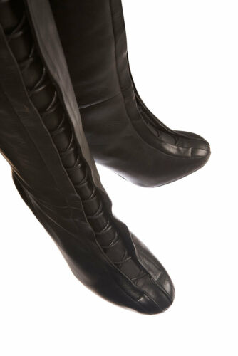 Black In Beatrix Uk Boots 5 Leg Lace Lovely Front Topshop High New FEPwOqRCE