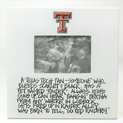Texas Tech Red Raiders 4x6 Picture Frame