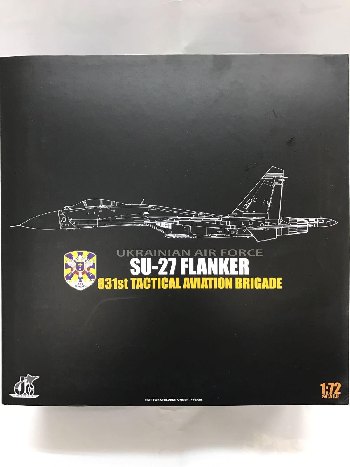 Jc Wings JCW-72-SU27-001, SU-27, 831st brigada de aviación táctico de accionariado, 1 72