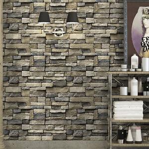 Stone Wallpaper Rock Self-Adhesive Contact Paper Peel and ...