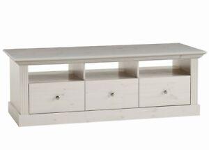Steens Tv Board Tv Tisch Monaco Landhausstil Kiefer Massiv White