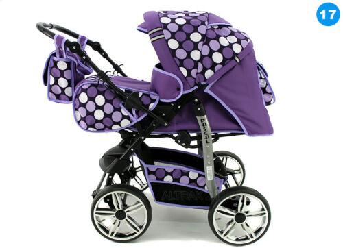 ★★★ Kombi Baby Kinderwagen 3in1 Pascal Sportwagen Pram Buggy Luftreifen ★★★