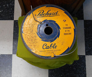 gm nos packard 600v shielded aircraft electrical wire 20 awg gauge image is loading gm nos packard 600v shielded aircraft electrical wire