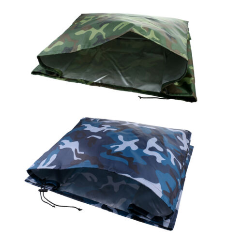 Camo Boat Outboard Waterproof Guard Cover Set of 2 Motor Engine Protectors