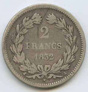 Louis-Philippe-1830-1848-2-Francs-1832-A-Paris