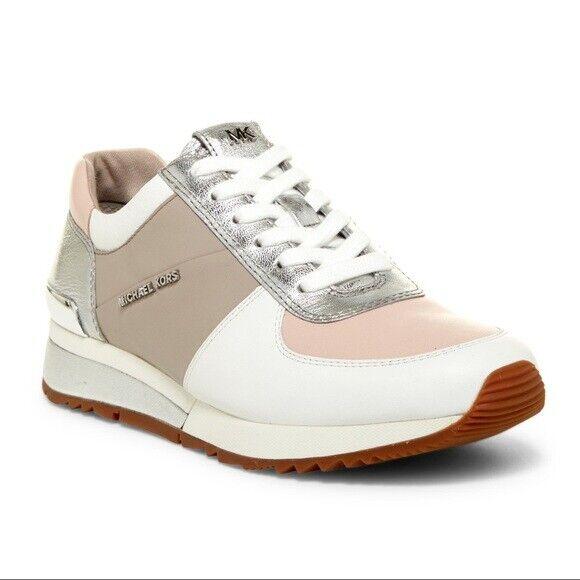 Michael Kors Allie Trainer Cement Pink