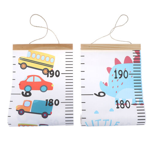 Nordic Children Height Ruler Canvas Hanging Growth Chart Kids Room Wall Decors3C