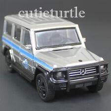 Jada Jurassic World Mercedes Benz G Class 4x4 1:43 Diecast Toy Car Silver