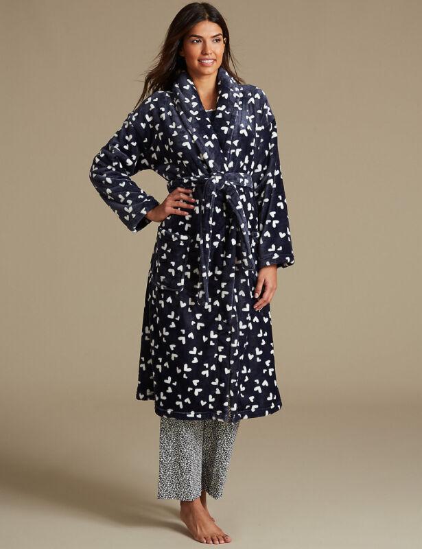 Donna Breve Nightwear Camicia Da Notte Chemise notte abito camicia da notte taglia 14