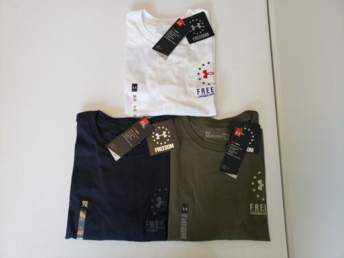 Under Armour Men/'s Freedom BFL Monochrome Tee NWT 2020